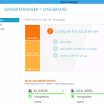 Windows 8 Server Manager