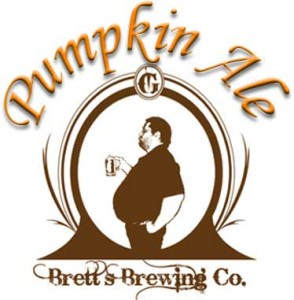 Pumpkin Ale Beer Label