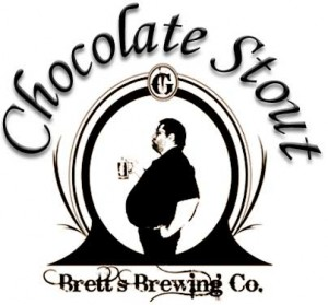 Chocolate Stout Beer Label