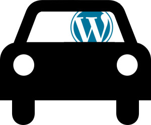 Wordpress in a car